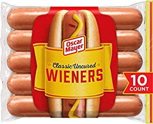 Oscar Mayer Classic Uncured Wieners (Pack of 10)