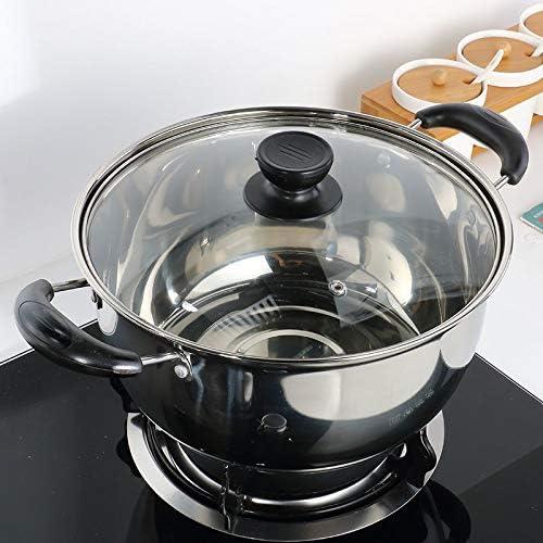 Casserole à Lait Soupe Pot à lait Pot épais couche unique marmite à soupe Steamer antiadhésif Pot Petit Pot Cooker Soupe Porridge Pot de soupe (Color : 22cm 3.1L) 24cm 4.0l