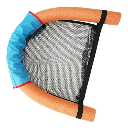Haokaini Schwimmende Stühle Mesh Stuhl Wasserhängematte Schwimmbadnudeln Schwimmender Pool Nudelstuhl Flexibles Schwimmendes Bett Mesh U-Sitz für Erwachsene Und