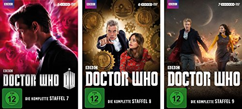 Doctor Who - Staffeln 7-9 (18 DVDs)