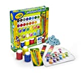 CRAYOLA- Set Pinturas Kids 40 pzas 31x30, Multicolor (54-0155)