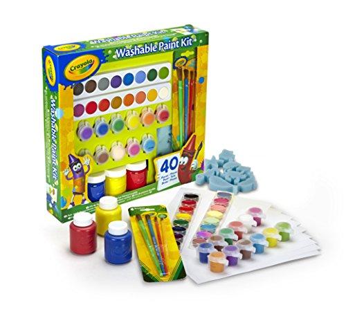 tempere kit bambini Crayola – Set Pittura Lavabile