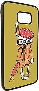 كفر جلاكسي نوت 5 بتصميم رسم كرتوني - ارنب