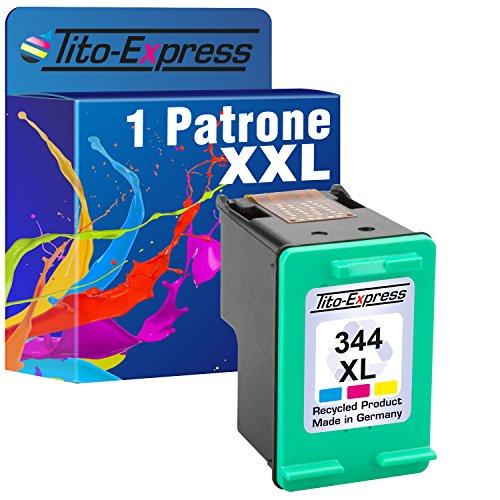 Tito-Express PlatinumSerie 1x Druckerpatrone für HP 344 XL Color PhotoSmart 5160 2700 2710 325 335 375 385 422 425 428 475