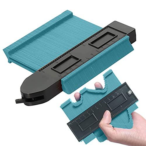 Plastico medidor de perfil de contorno,Medidor de Forma y Contorno,duplicador de contornos,Calibrador de contorno,Herramienta de Medición de Perfil (1)