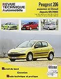 E.T.A.I - Revue Technique Automobile 694.2 - PEUGEOT 206 - 1998 à 2009