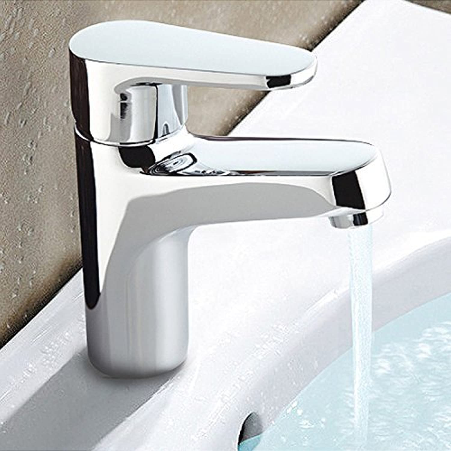 Bathroom Sink Basin Lever Mixer Tap Cold and Hot Water Basin Faucet Cold and Hot Water Basin Faucet