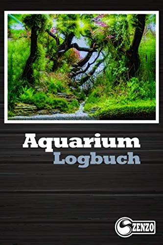 Aquarium Logbuch: Perfekt zum notieren ihrer Wasserwerte. Für Aquarien mit starkem Fischbesatz oder auch Pflanzenaquarien