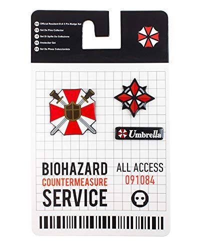 Official Resident Evil 3 Pin Box Set