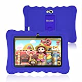"Kids Tablet, 7 inch Tablet for Kids, WiFi Android 9.0 Pie, 2GB RAM 16GB ROM, Kid Edition Tablets, Parental Control, Education Apps Pre Installed, Dual Camera, 7"" HD Display, Kids- Proof Case - Blue"