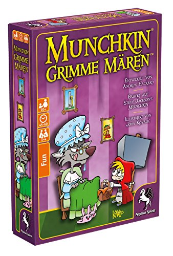 Pegasus Spiele 18402G - Munchkin, Grimme Mären