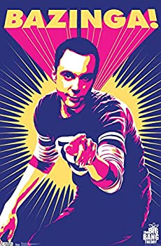 Trends International The Big Bang Theory Sheldon Wall Poster 22.375  x 34