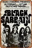Black Sabbath Jahrgang Blechschild Kunst Eisenmalerei