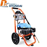 <span class='highlight'><span class='highlight'>P1PE</span></span> Petrol Washer 196cc 6.5hp Engine 2800psi / 207 Bar Heavy Duty 8meter Hose, Quick Connection Trigger Gun, High Pressure Lance, Turbo Selection of Standard Nozzles. P3000PWA, Orange