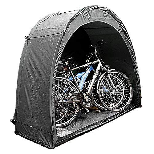 JTYX Carpa para Bicicletas portátil Cobertizo para Almacenamiento de Bicicletas Sombrilla Impermeable al Aire Libre Cubierta de Bicicleta Multifuncional con Bolsa de Transporte