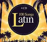 100 canciones latínas, música brasileña, Bossa Nova, música de baile latino, salsa, bachata, merengue, kizomba y jazz latino [4 CD]