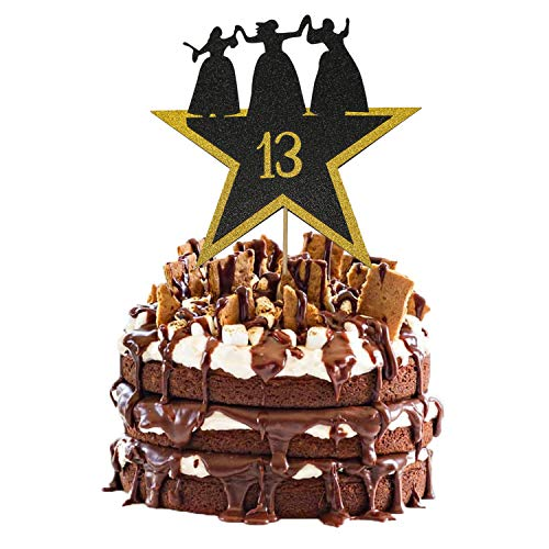 Hamilton Cake Topper 13, Happy 13th Birthday Hamilton Cake Topper for 13 Years Old Boy Girl American Musical Hamilton Birthday Party Decorations