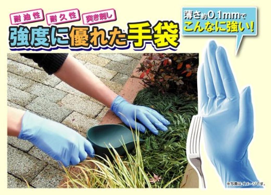 自信がある売上高最後のニトリル極うす手袋(100枚入り) Sサイズ
