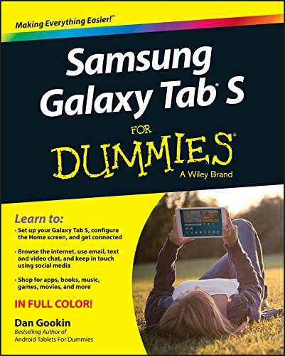 Samsung Galaxy Tab S For Dummies (English Edition)