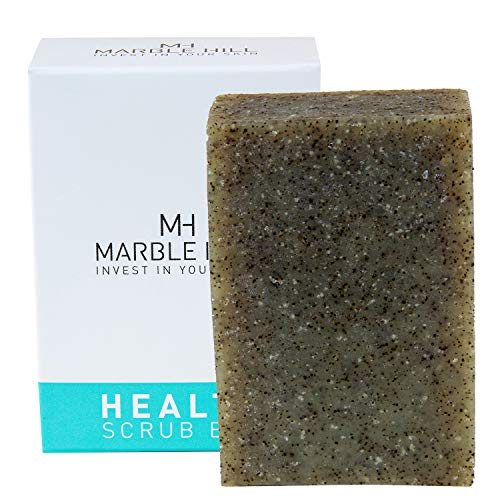 Antifungal Tea Tree Oil Soap, Acne Face Wash, Helps Athletes Foot, Ringworm, Toenail Fungus and Body Odour- Soothes Itching & Promotes Healthy Feet, Skin and Nails. Formulated by a Medical Doctor. Benefits from Exfoliating Seaweed and Conditioning Neem Oil. Antibacterial Cleansing.100g