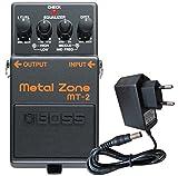 Boss MT-2 Metal Zone Distortion Pedal + fuente de alimentación keepdrum 9 V