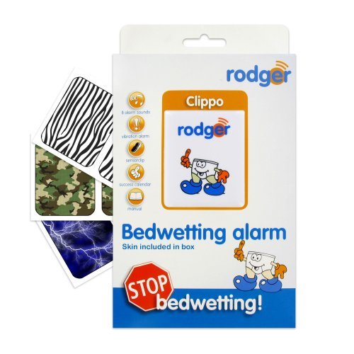 Rodger Clippo Bedwetting Enuresis Alarm w Nature Pack Decals