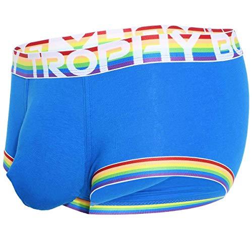Andrew Christian Herren Boxershorts Trophy Boy Pride Boxer 91515, blau S