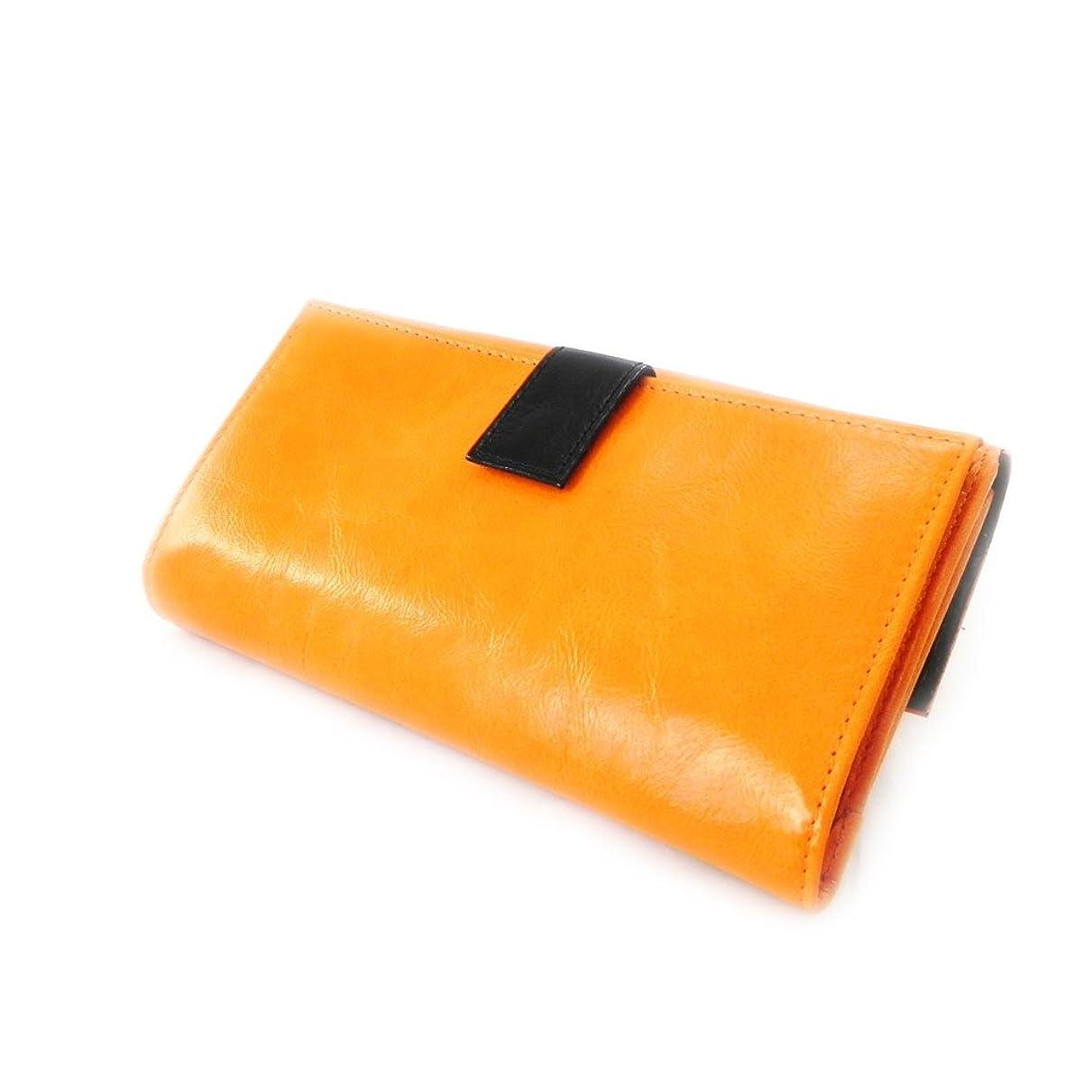 加速する雄大な近代化するFrandi [I8032] - Compagnon Cuir 'Frandi' orange noir vernis