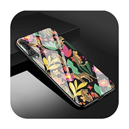 Phone cover Leopard Series Diy - Carcasa de cristal templado