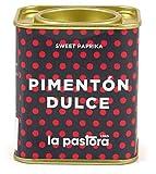 LA PASTORA | Producto Gourmet | Pimentón Dulce | 75 gr. | 100% Natural | Pimentón en Polvo | Potente Antioxidante | Apto Para Celíacos | Condimenta Tus Comidas | Pimentón Español
