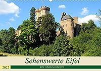 Sehenswerte Eifel - Die schoensten Burgen (Wandkalender 2022 DIN A2 quer): Die Eifel ist das Land der Burgen. (Monatskalender, 14 Seiten )