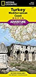 Turkey: Mediterranean Coast (National Geographic Adventure Map (3019))