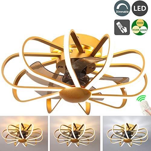 pas cher un bon Ventilateur de plafond léger et ultra silencieux avec télécommande 3 Ventilateur à vitesse du vent…