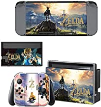 HolaCase4UNintendo Switch Skin Set Play video games HD Printing Faceplate Protective for Console, Controller Skin Decal