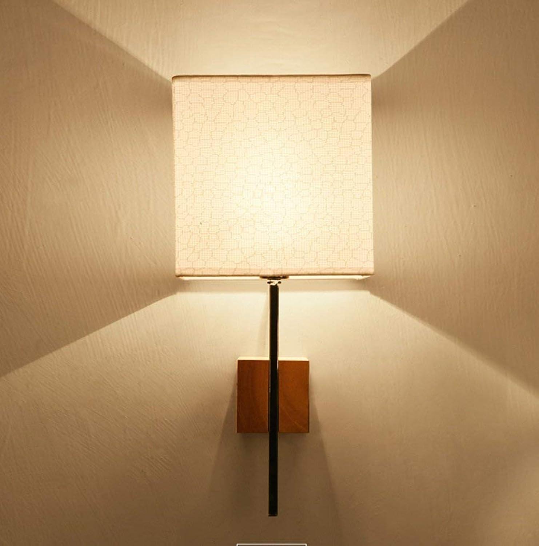 Einfache und moderne Bett Wand lampe Wohnzimmer gang Lampe Schlafzimmer tuch Wandleuchte (Stil  A)