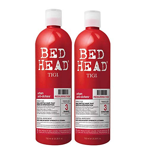 TIGI Bed Head Urban Anti+Dotes Resurrection Level 3 Shampoo & Conditioner per Capelli Danneggiati - 1500 g