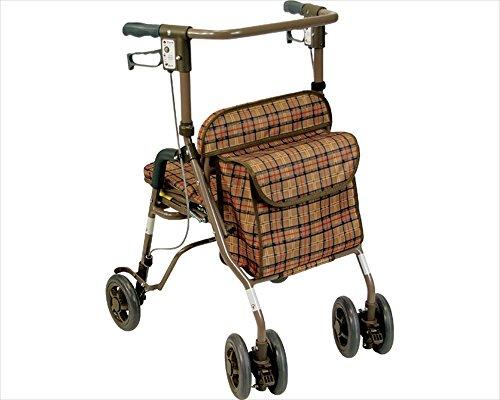 島製作所 シンフォニーSP (CLブラウン) 耐荷重100kg 歩行車シリーズ
