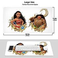 モアナと伝説の海 (1) おしゃれ 周辺機器 大型 3d柄プリント ゲーミング マウスパッド 人気 防水 滑り止め オフィス デスクマット キーボードパッド 水で洗える パソコン マウスパッド