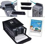 CAMKIX Reisesicherheits-Pack Kompatibel mit DJI Mavic Pro/Platinum - Für 2 Akkus - Beinhaltet:...