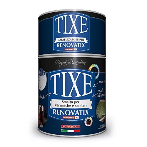 TIXE 405600 Smalto Sanitari e Ceramiche, Vernice, Bianco, 750 ml