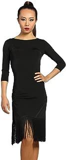 latin dress black