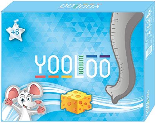YOOLOO JUNIOR – Das Coole Kartenspiel für Kinder mit niedlichen Tier-Motiven – 2 - 8 Spieler – 3 bis 30 Minuten – NEU 2018
