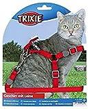 Trixie 41891 Katzengeschirr mit Leine, Nylon, 26–37 cm/10 mm, 1,20 m