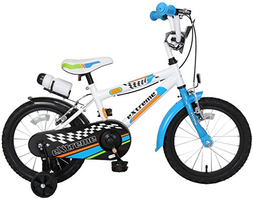 F.lli Schiano Extreme, Bici da Bambino, Bianco/Blu, L