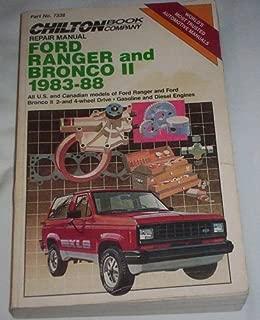 Best 1987 ford ranger repair manual Reviews