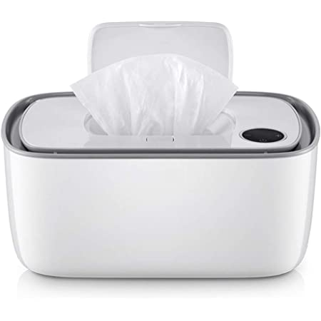 Cangfort Dispensador de toallitas húmedas para bebés, calentador de pañales con carga USB, sin BPA, seguro y portátil, te trae toallitas perfectas temperatura y humedad