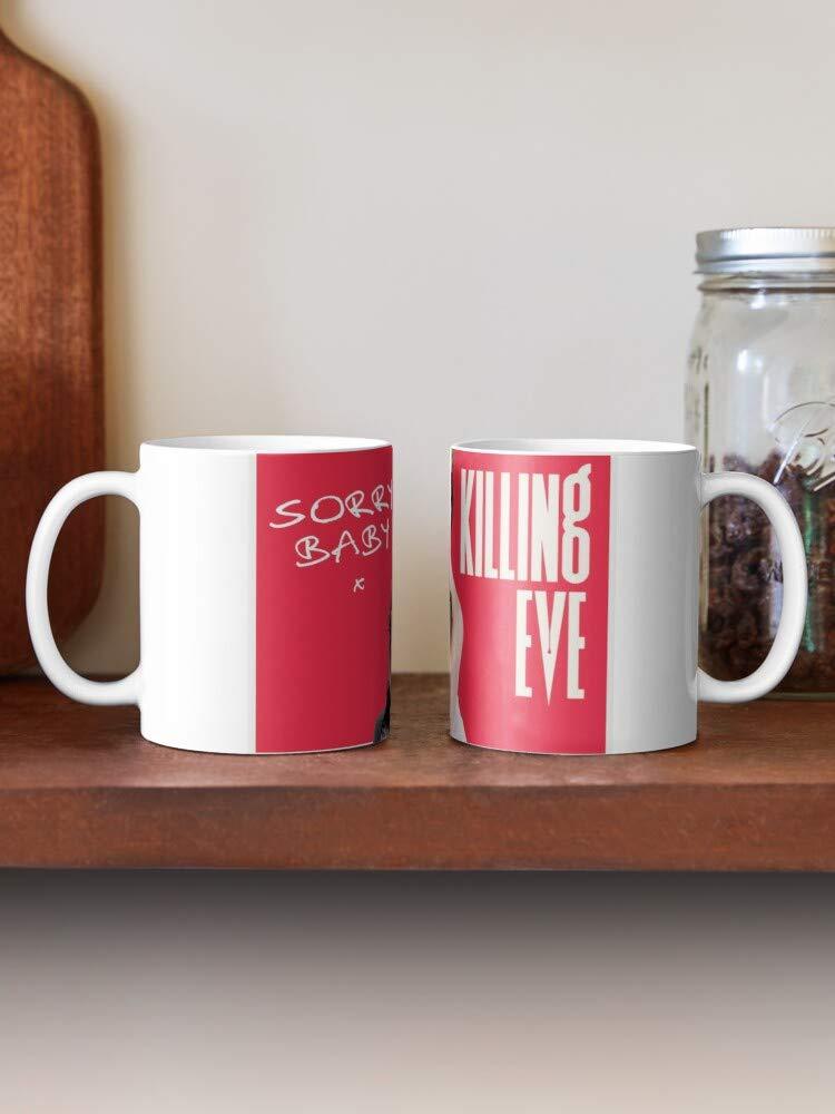 Villanelle TV Show Mug Eve TV Program Drama Mystery Love Killing Christmas Action Thriller Merchandise Unisex Shopper Bag Sack Red Handle Prime