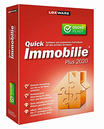 Lexware QuickImmobilie Plus 2020