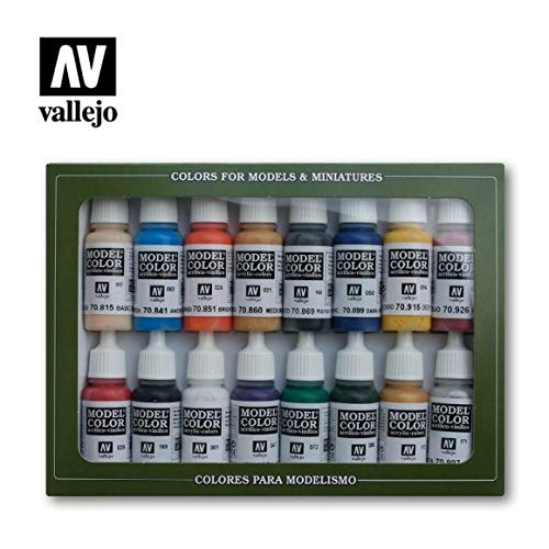 Vallejo Napoleonics Paint Set #10, 17ml