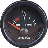 Simoni Racing FL/B Indicatore Elettronico Livello Carburante, Nero...